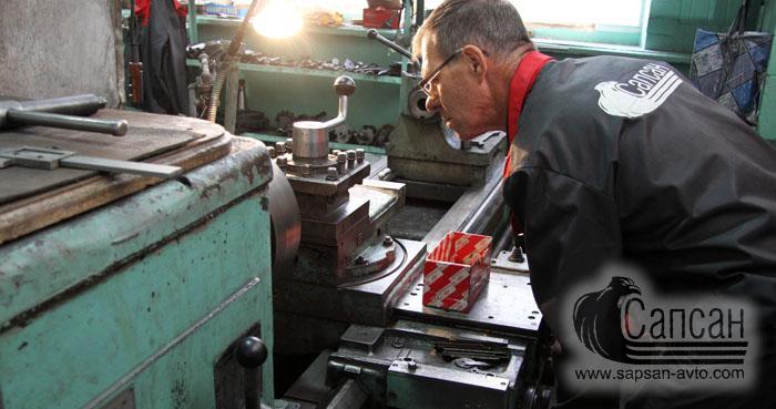 Механическая обработка металлов. Сапсан-322. Днепр