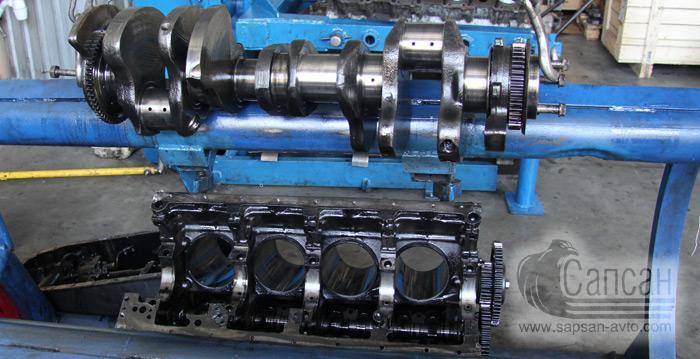 Капитальный ремонт двигателя КамАЗ, ЯМЗ, Cummins. Сапсан-322. Днепр