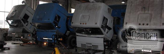 Техническое обслуживание автомобилей КамАЗ. Сапсан-322, Днепр