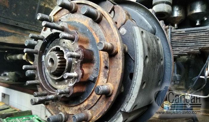 Ремонт тормозных систем грузовых автомобилей КамАЗ. Сапсан-322, Днепр