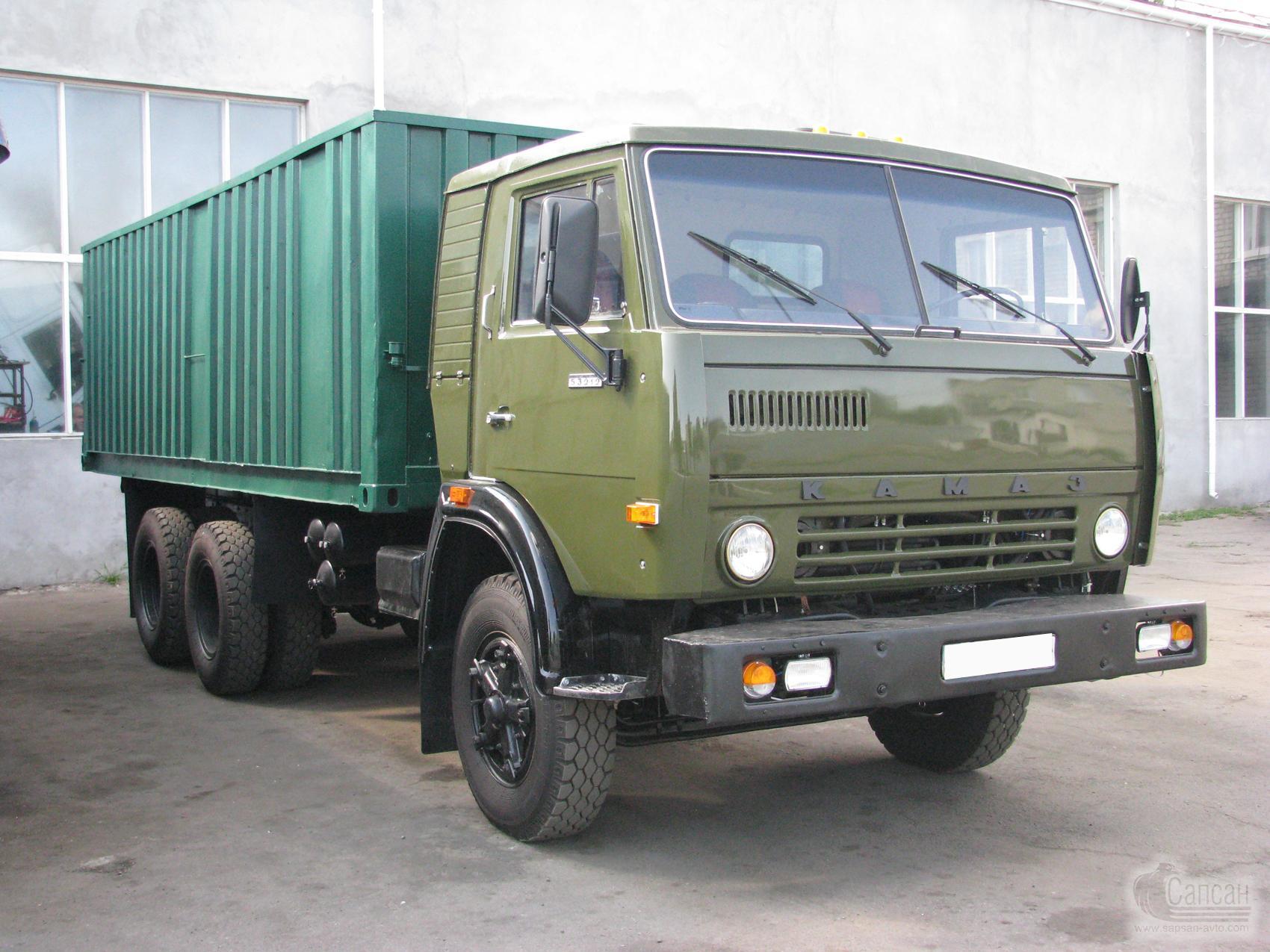 Капитальный ремонт (восстановление) КАМАЗ 55102