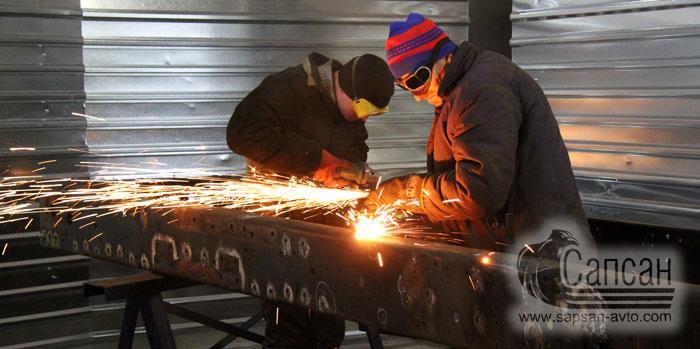 Восстановление и усиление рам грузовых автомобилей. Сапсан-322. Днепр